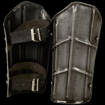 Dark Drake Steel Arm Bracers