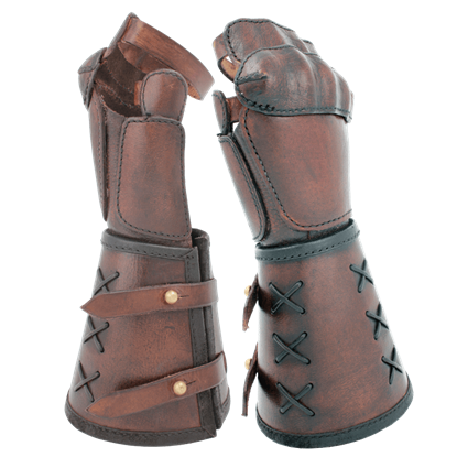 Single Leather Gauntlet
