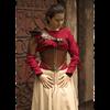 Margot Leather Underbust Corset