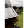 Guardsman Helmet - Polished Steel