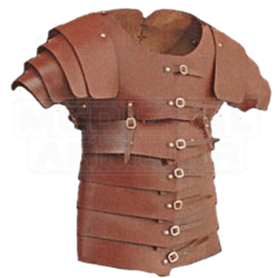 Leather Lorica Segmentata - 13/15 oz.