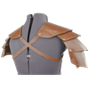 Knights Leather Spaulders