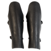 Leather Gladiator Greaves