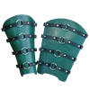 Berserker Leather Greaves