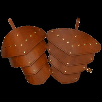 Leather Tassets