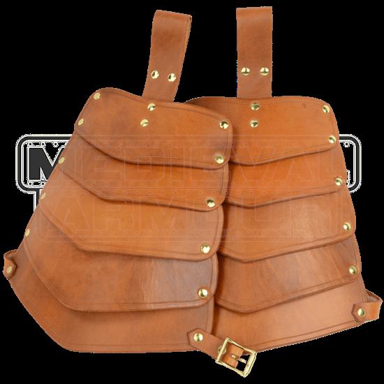 Warriors Leather Tassets