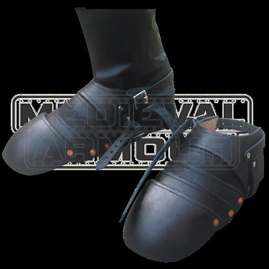 Leather Sabatons