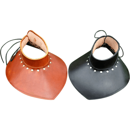 SCA Style Leather Gorget