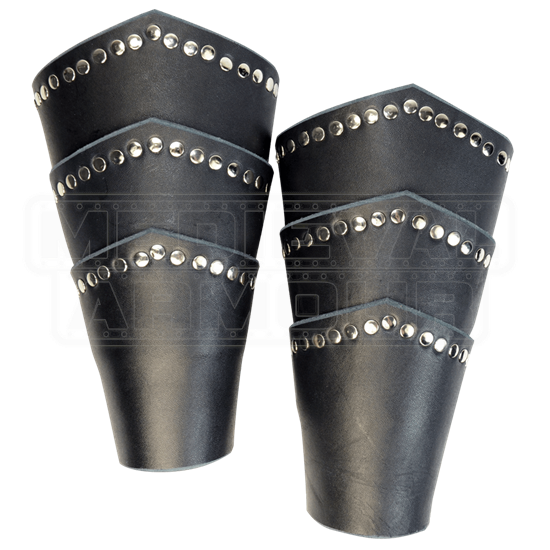 Knights Studded Arm Bracers