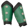 Deluxe Celtic Leather Arm Bracers