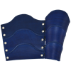Classic Warrior Leather Arm Bracers