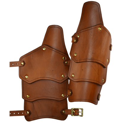 Reginald Leather Arm Bracers