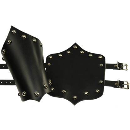 Noble's Leather Arm Bracers