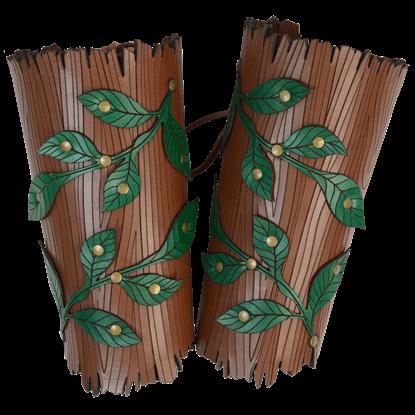 Woodland Vine Arm Bracers