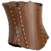 Woodland Tree Bark Corset