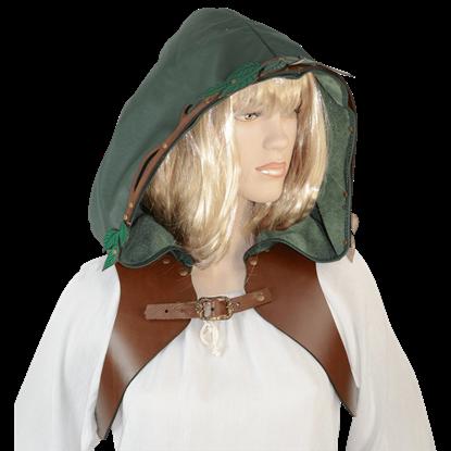 Woodland Bolero Jacket with Hood