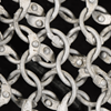 Riveted Aluminum Chainmail Haubergeon