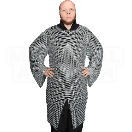 Butted Chainmail Hauberk