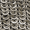 Flat Ring Wedge Riveted Chainmail Hauberk