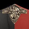Black Prince Wooden Shield