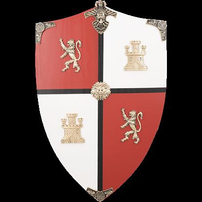 El Cid Wooden Shield