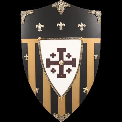Jerusalem Wooden Shield
