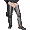 Full Leather Leg Armour