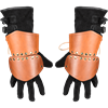 Knightly Leather Half Gauntlets
