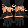 Knightly Leather Half Gauntlets