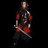 Blackened Mina Chest Armour