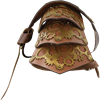 Leather Steampunk Gear Single Pauldron