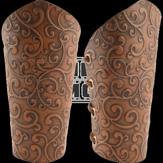 Elven Swirl Arm Bracers