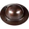 Antique Copper Shield Boss