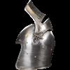 Visored Bascinet Combat Helmet