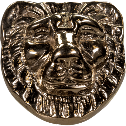 Nemean Lion Brass Accent