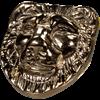 Nemean Lion Brass Accent
