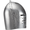 Gothic Knight Helmet - Polished