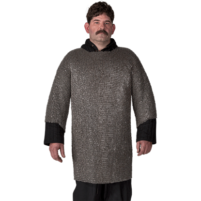 Round Riveted Chainmail Shirt