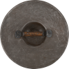 Natural Finish Steel Buckler - Large