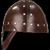 Leather Vendel Viking Helmet