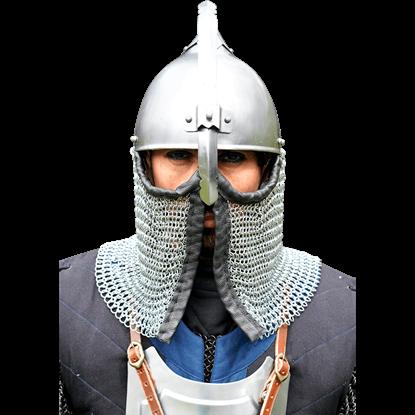 Persian Helmet - Polished Steel