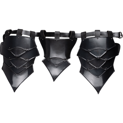 Blackened Rikomer Armour Belt