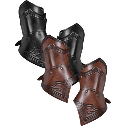 Leather Sulla Gauntlets