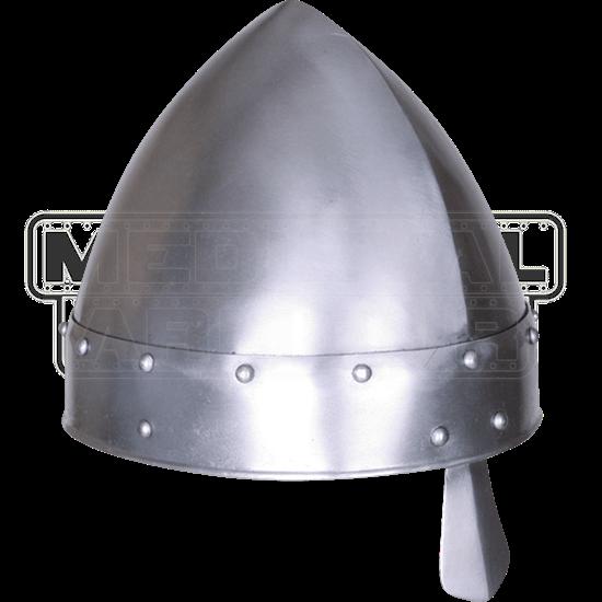 Baldric Steel Norman Helmet