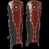 Praetorian Leather Greaves