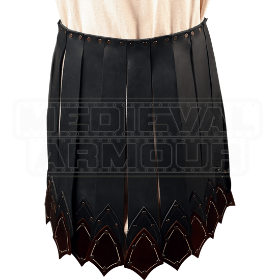 Praetorian Leather Battle Skirt