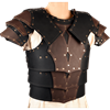 Mercenary Leather Cuirass with Pauldrons