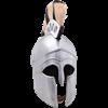 Greek Corinthian Helmet with Plume