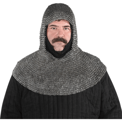 Premium Medieval Chainmail Coif