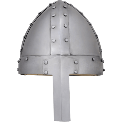 Spangenhelm with Straight Nasal Guard
